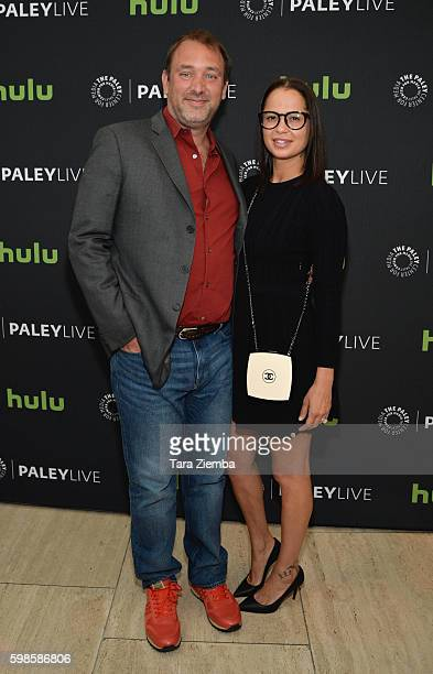 """Trey Parker and Boogie Tillmon attend The Paley Center for Media special retrospective event honoring 20 seasons of """"South Park"""" at The Paley Center..."""