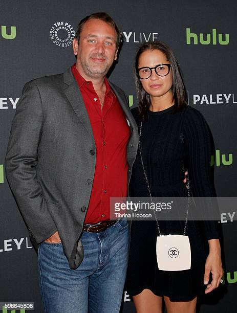 Trey Parker and Boogie Tillmon attend The Paley Center for Media presents special retrospective event honoring 20 seasons of 'South Park' at The...