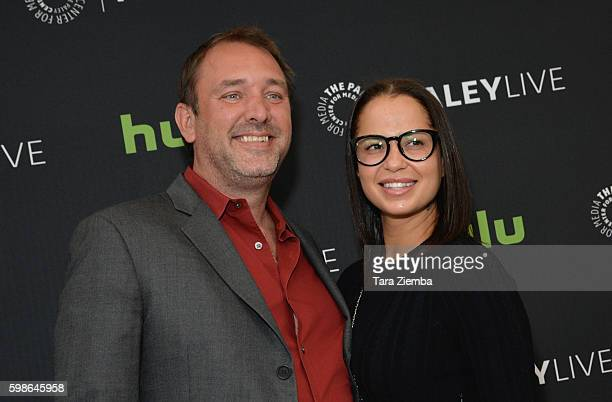 Trey Parker and Boogie Tillmon attend The Paley Center for Media special retrospective event honoring 20 seasons of 'South Park at The Paley Center...