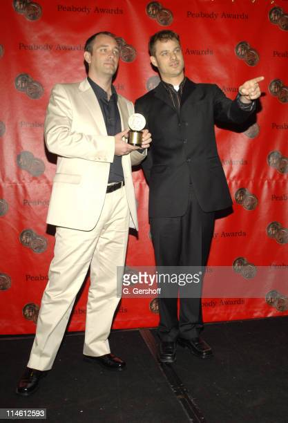 Trey Parker and Matt Stone during 65th Annual Peabody Awards at Waldorf Astoria in New York City, New York, United States.