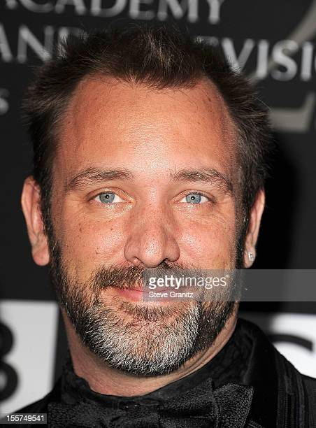 Trey Parker arrives at the BAFTA LA 2012 Britannia Awards Presented By BBC America at The Beverly Hilton Hotel on November 7 2012 in Beverly Hills...
