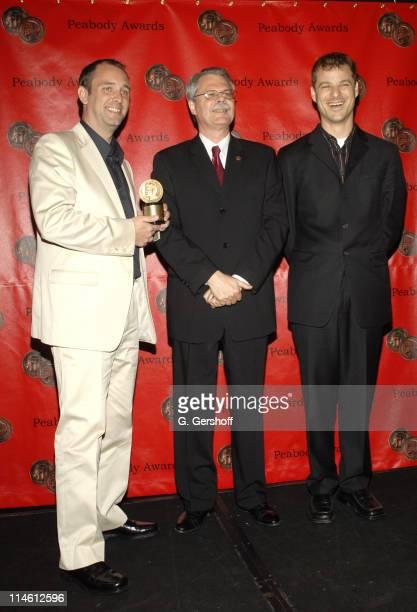 Trey Parker, Horace Newcomb and Matt Stone
