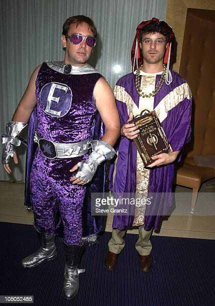 Trey Parker Matt Stone during the Mondrian Hotel Halloween Party at The Mondrian Hotel in Los Angeles California United States