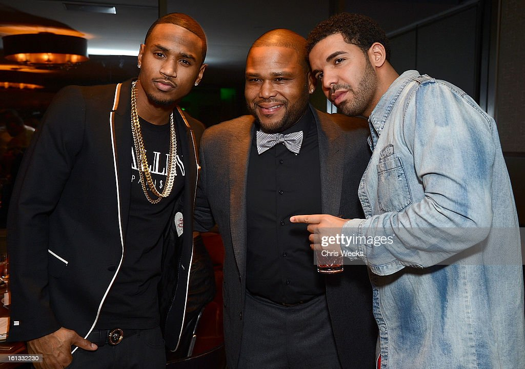 Trey Songz Love Quotes: Trey Songs, Anthony Anderson And Drake Attend The GREY