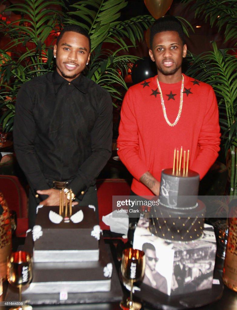 Trey Songz & Fabolous Birthday Dinner : News Photo