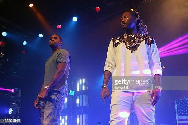 Trey Songz and Future perform in concert at Best Buy Theater on June 3 2014 in New York City