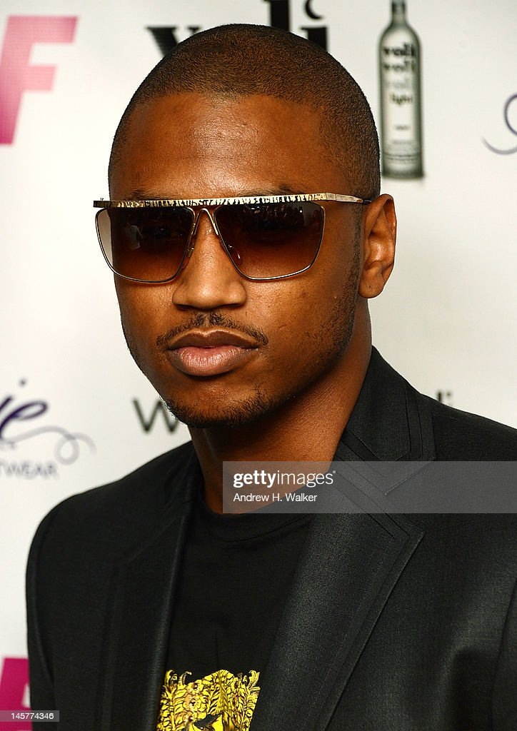 Trey Songz attends SELF Magazine's July Issue Launch With Fergie on June 5, 2012 in New York City.