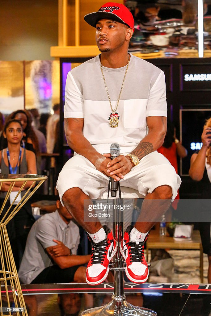 Trey Songz attends the Samsung Galaxy Experience at ESSENCE Festival on July 4, 2015 in New Orleans, Louisiana.