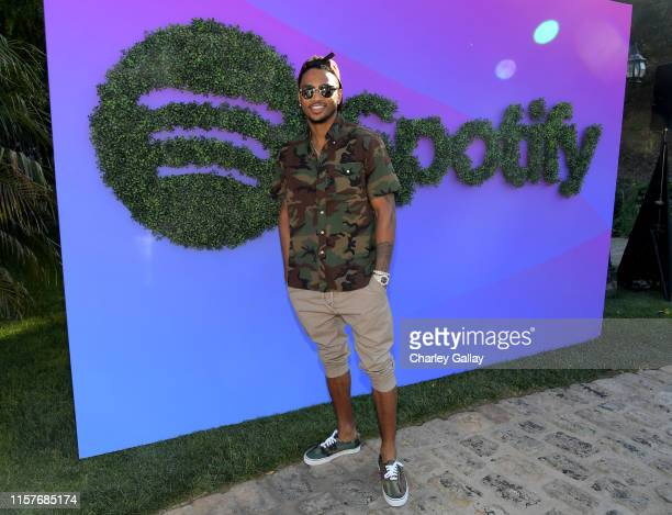 Trey Songz attends the Spotify Cookout on June 22 2019 in Los Angeles California
