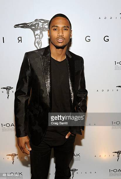 Trey Songz attends the Trey Songz Trigga Album Release Party at 1OAK on July 2 2014 in New York City