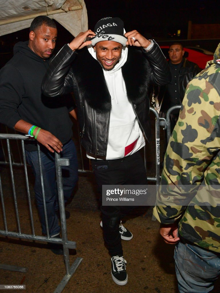 d259a3d1860 Trey Songz attends Trey Songz Album Release Party at Compound on ...