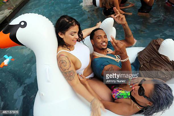 Trey Songz Celebrates The 10th Anniversary Of The Release Of His Debut Album 'I Gotta Make It' at a private location on July 26 in East Hampton New...