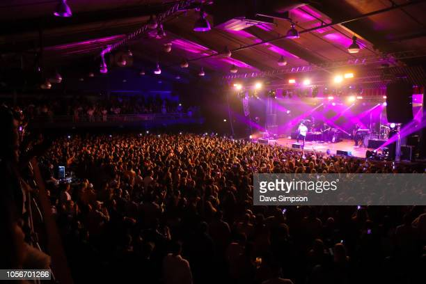 5e05054a323 Trey Songz performs on stage at the Logan Campbell Centre on November 3  2018 in Auckland