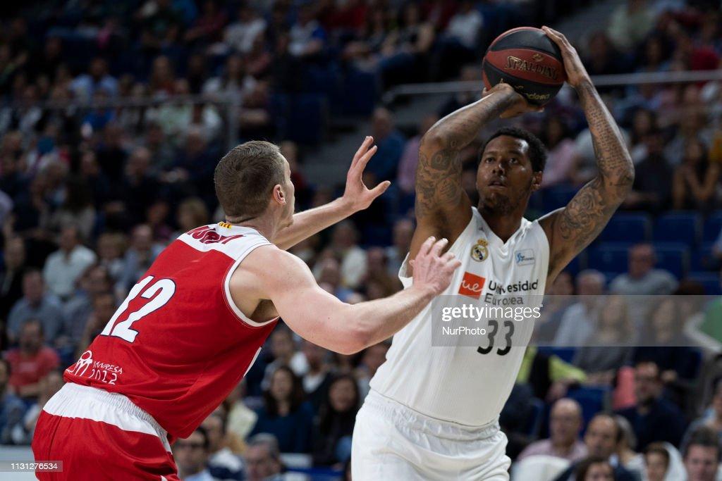 ESP: Real Madrid v Manresa - Basketball ACB League