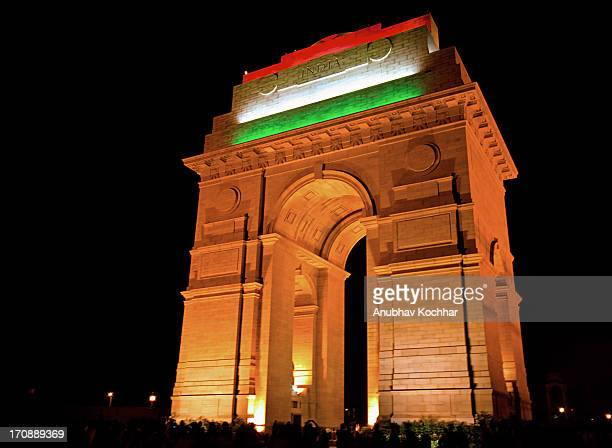 Tri Color India Gate