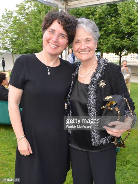 Tria Case and Fritzy Goodman attend the Franklin D Roosevelt Four Freedoms Park's gala honoring Founder Ambassador William J Vanden Heuvel at...