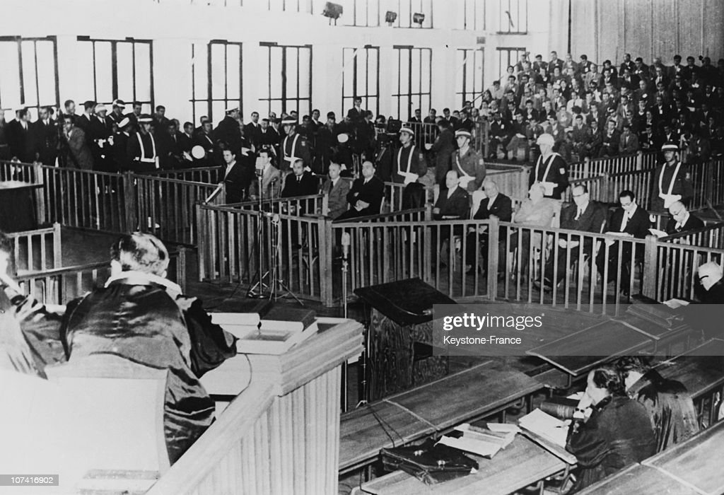 Trial Of Adnan Menderes In Yassida Island On October 21St 1960 : News Photo
