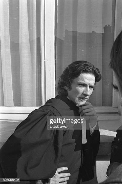 Trial of Claude Buffet and Roger Bontems in front of the crown court in Troyes, France. Claude Buffet was condemned, with his cell mate Roger...