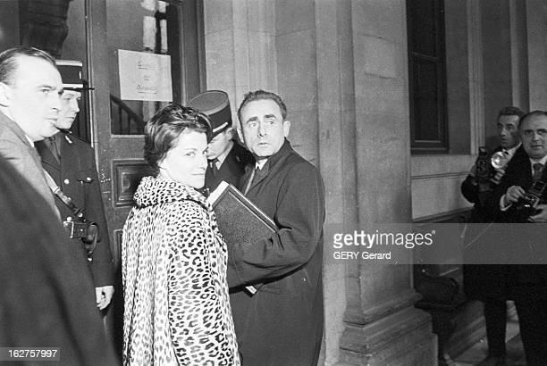 Trial Of Georges Rapin Known As 'Monsieur Bill' Murderer Of Dominica Thirel And Of Pump Attendant Adam Reconstruction Trial Death Sentence France...