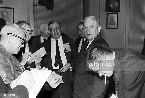 Trial Of Jack Ruby The Assassin Of Lee Harvey Oswald Aux EtatsUnis à Dallas en mars 1964 se tient le procès de Jack RUBY propriétaire d'une boite de...