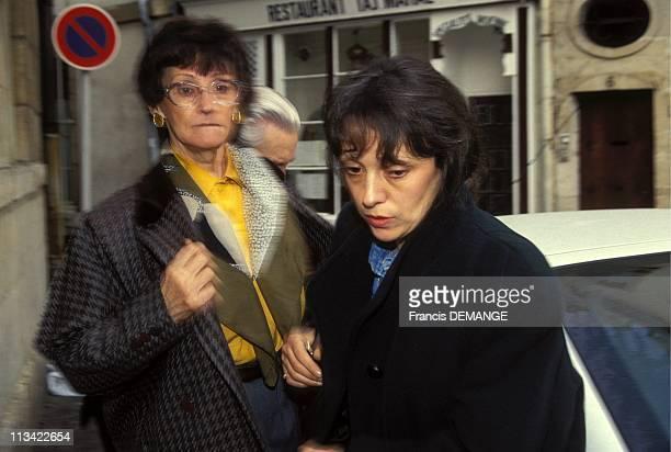Trial Of JeanMarie Villemin A Dijon On November 12th1993