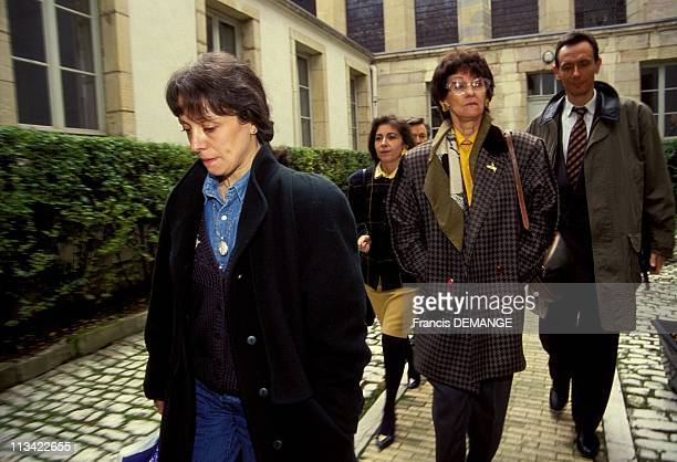 Trial Of Jean-Marie Villemin A Dijon On November 12th,1993