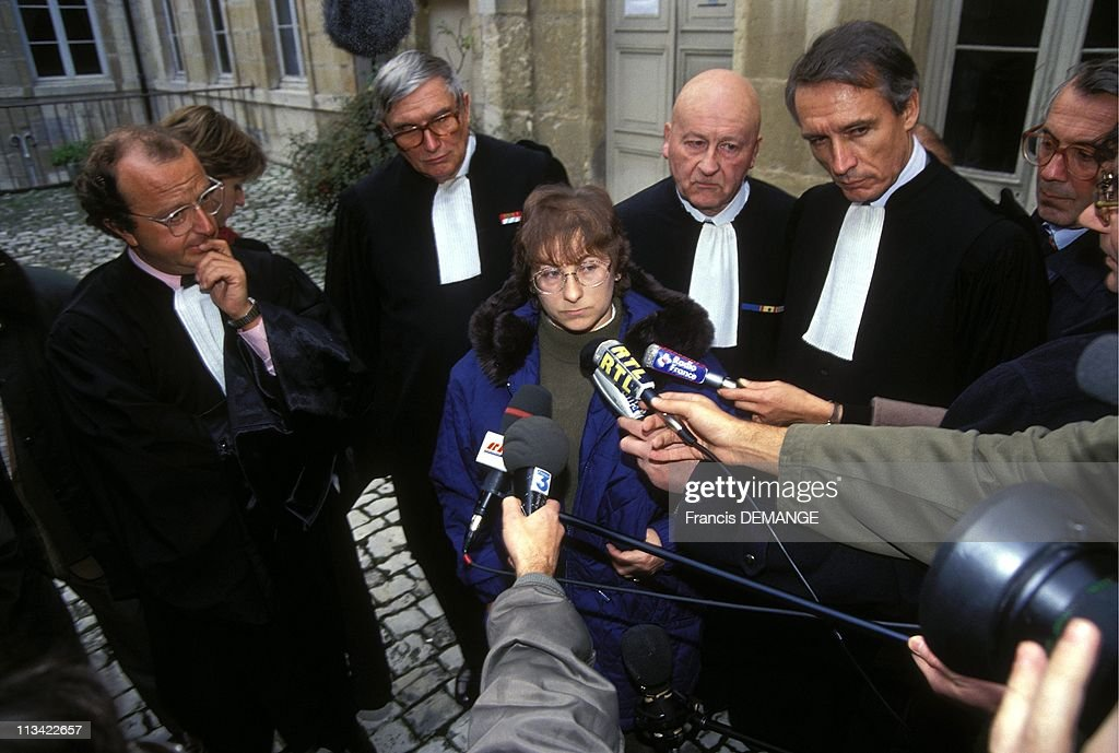 Trial Of Jean-Marie Villemin A Dijon On November 12th,1993 : Fotografía de noticias