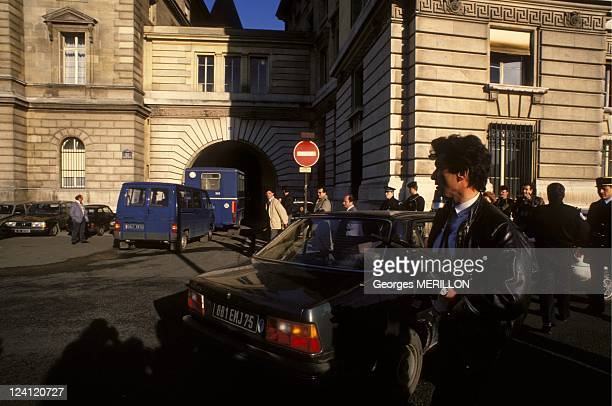 Trial of members of the French group Action Direct In Paris France On January 11 1988 In March 1987 two women Nathalie Menigon and Joelle Aubron were...