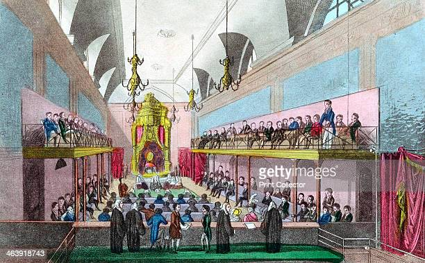 Trial of Queen Caroline in the House of Lords London 1820 Caroline of BrunswickWolfenbuttel married the future King George IV of Great Britain in...