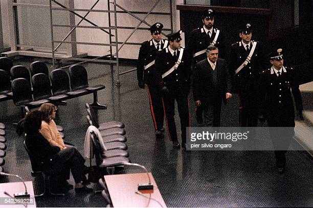 Trial of the Calabrian mafia don Toto Riina