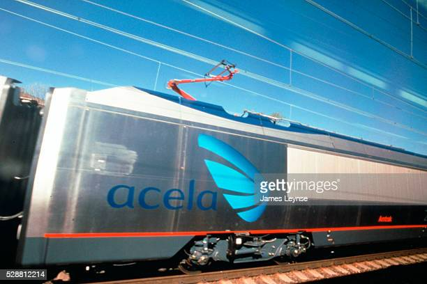 Trial run of the Acela express from Washington DC to Boston
