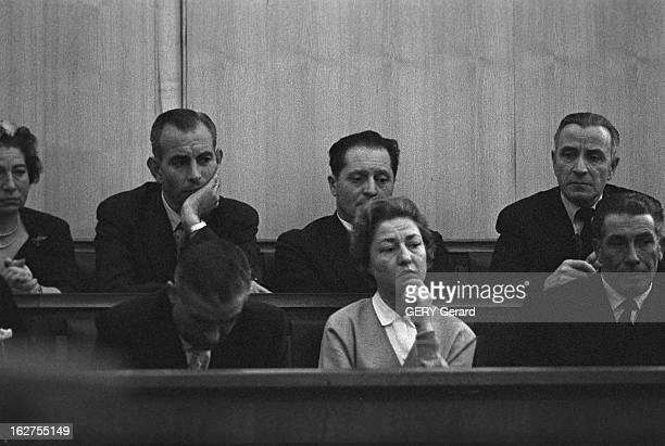 The Pierre Jaccoud Case En Suisse à Genève janvier 1960 Procès de Maitre Pierre JACCOUD grand avocat genevois accusé et condamné à 7 ans de prison...