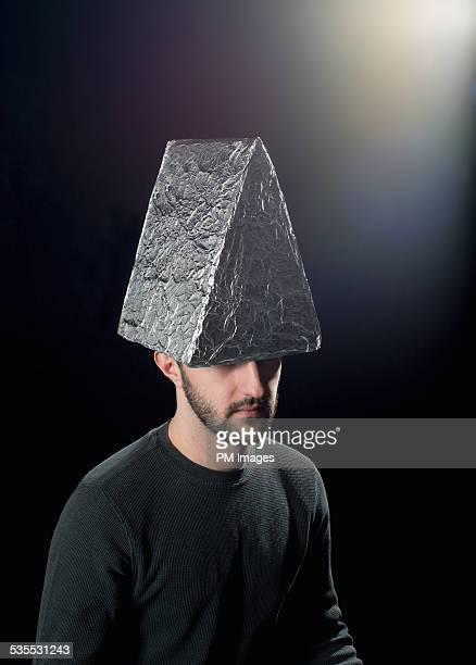 Triangle foil hat