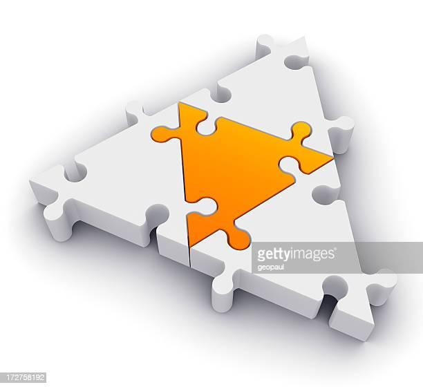 三角形のジグソー