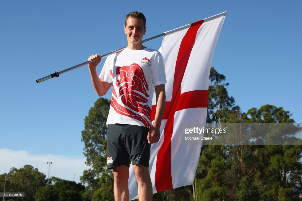 Triathlete Alastair Brownlie is announced as England flagbearer ahead of the 2018 Commonwealth Games on April 3, 2018 in Gold Coast, Australia.