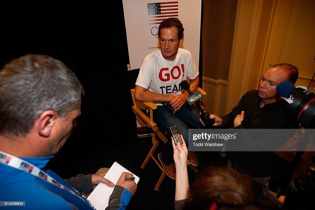 2016 Team USA Media Summit - Press Conferences : News Photo