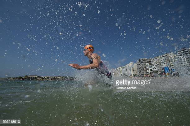 2016 Summer Olympics Great Britain Jonathan Brownlee in action during Men's Triathlon at Fort Copacabana Rio de Janeiro Brazil 8/18/2016 CREDIT...