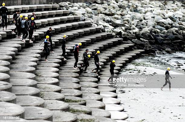 CONTENT] Triathlon Sport Men Beach Sea Water Tti