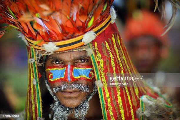 Tribal clan feather headdress