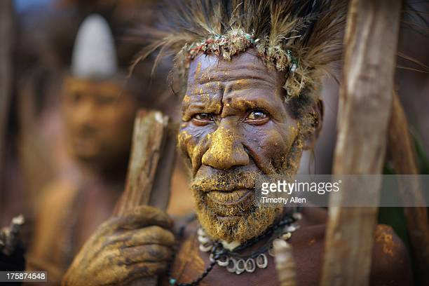 Tribal elder at Mount Hagen Festival