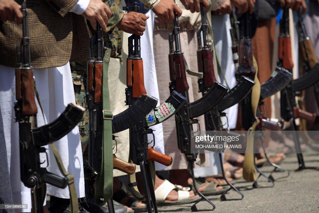 TOPSHOT-YEMEN-CONFLICT : News Photo