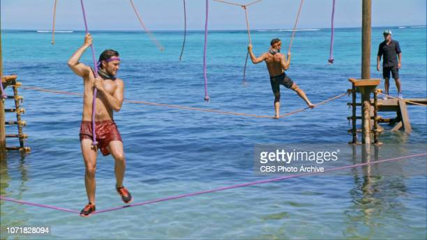 Tribal Lines Are Blurred Nick Wilson Alec Merlino and Jeff Probst on the tenth episode of SURVIVOR David vs Goliath on a twohour SURVIVOR Wednesday...