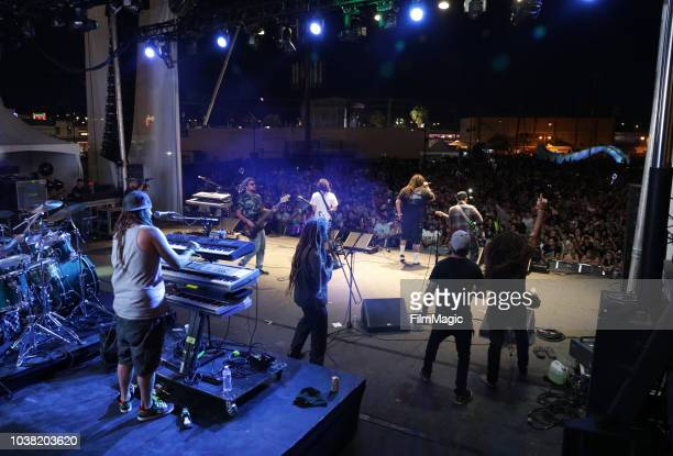 Tribal Seeds performs on Huntridge Stage during the 2018 Life Is Beautiful Festival on September 22 2018 in Las Vegas Nevada