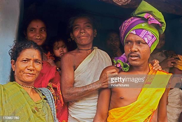 Tribals in Koraput District Orissa India