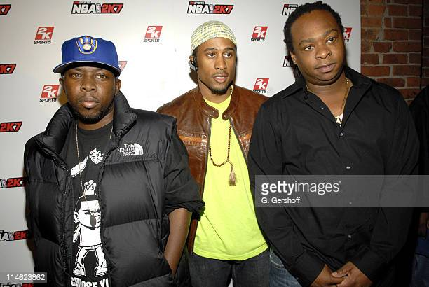 Tribe Called Quest during Shaquille O'Neal and 2K Sports Host the NBA 2K7 VIP Launch Party at Home in New York City, New York, United States.