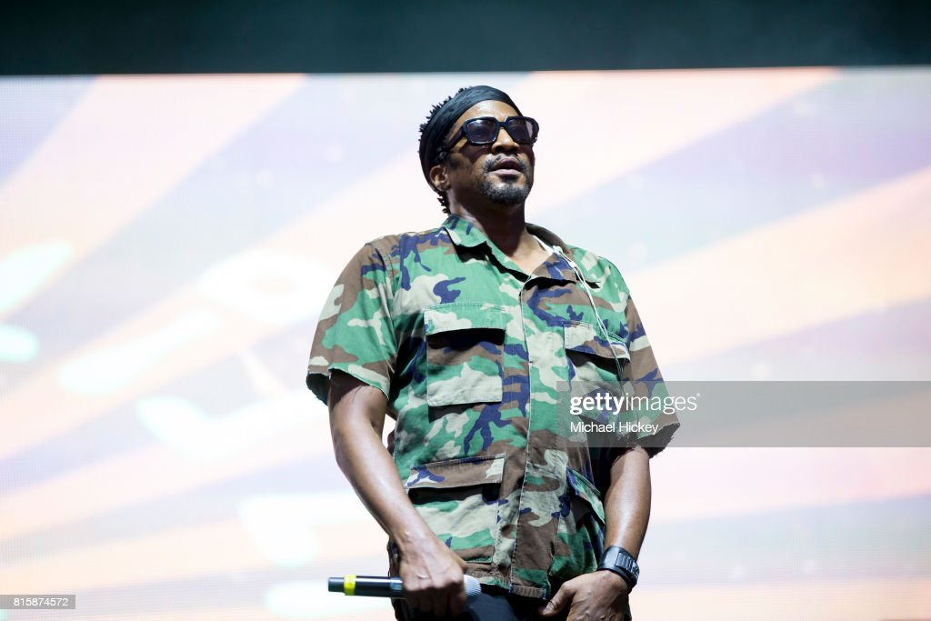 A Tribe Called Quest performs at the Pitchfork Festival at Union Park on July 15, 2017 in Chicago, Illinois.