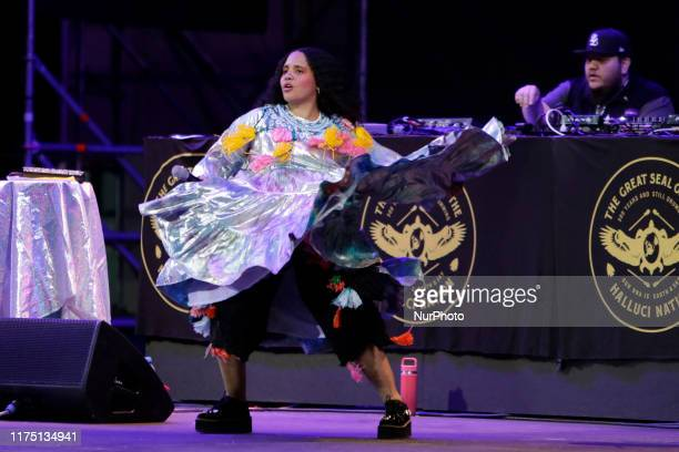 Tribe Called Red with Lido Pimienta there was the opening of the activities of the 47th edition of the Cervantino International Festival the most...