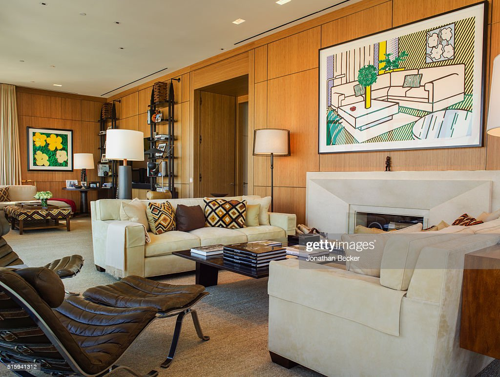 A Tribeca Apartment Designed By Architect Thierry Despont Is Photographed  For Vanity Fair Magazine On February
