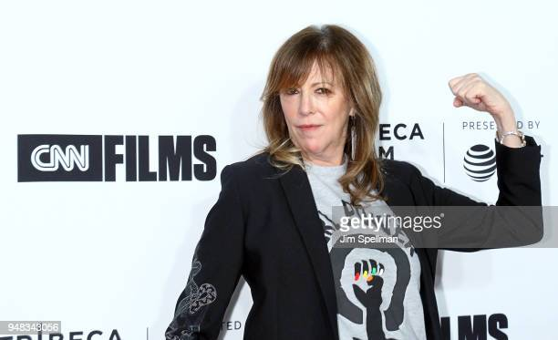 Tribeca Film Festival cofounder Jane Rosenthal attends the 2018 Tribeca Film Festival opening night premiere of Love Gilda at Beacon Theatre on April...