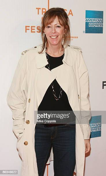 """Tribeca Film Festival Co-Founder Jane Rosenthal attends the premiere of """"Poliwood"""" during the 8th Annual Tribeca Film Festival at the BMCC Tribeca..."""